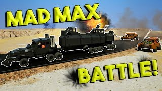 LEGO MAD MAX DERBY CHALLENGE! - Brick Rigs Multiplayer & Gameplay Challenge
