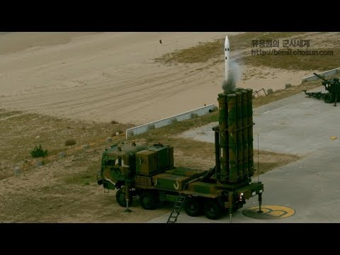 국산 중거리 대공미사일 천궁 첫 실사격 등 2017 공군 방공유도탄 사격대회 풀영상