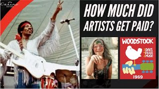 Woodstock - How Much Did Artists Get Paid?