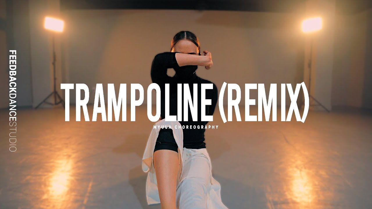 SHAED - TRAMPOLINE (CATWISE Remix) | MYULA | AMY Choreography