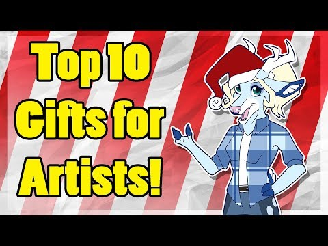 Top 10 Gifts for Artists! [Art Block #30]