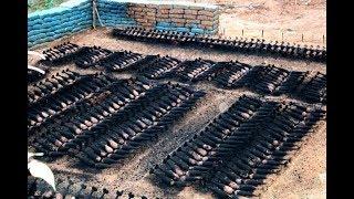 中越边境一处深山忽然起火冒烟 12000多枚地雷和爆炸物报废