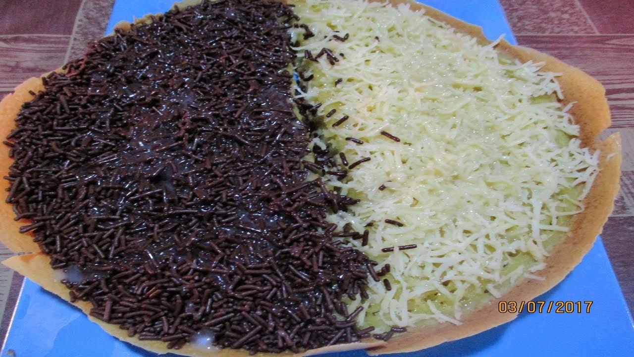 Resep Martabak Manis Teflon Tanpa Mixer