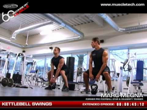 muscletech quot60 seconds on musclequot kettlebell swing youtube