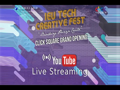 [LIVE] Grand Opening Click Square | Day 3 | Part 1