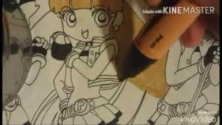 Drawing Powerpuff Girls Z