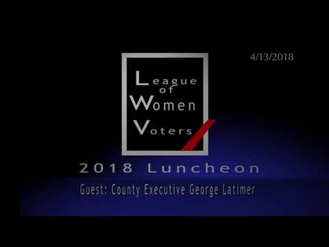 Annual Luncheon of the League of Women Voters of the Shoreline Chapters