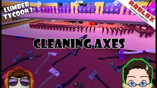 Cleaning Axes [Finisher] Lumber Tycoon 2