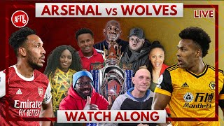 Arsenal vs Wolves | Watch Along Live