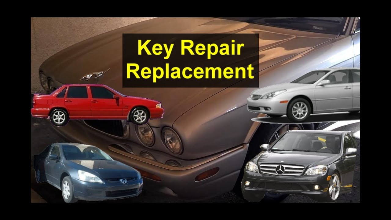 How To Fix Your Broken Key And Fob Honda Accord Lexus Jaguar