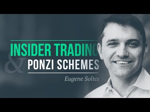 The $65-billion Ponzi scheme, notorious insider trading · Eugene Soltes