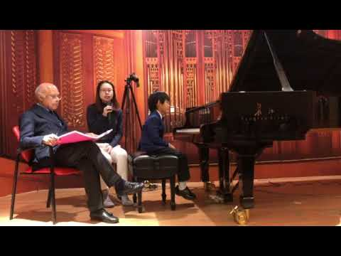 (Part.2) William Grant Nabore master class & ManMan Age 6
