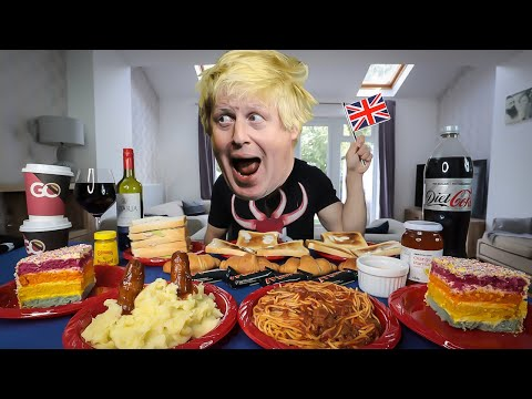 BORIS JOHNSON'S RIDICULOUS DAILY DIET CHALLENGE | BeardMeatsFood thumbnail