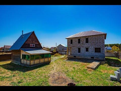 Коттедж и Дом с баней около Екатеринбурга, село Косулино