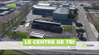 Le centre de tri du Pôle Environnement de Carcassonne - SUEZ France