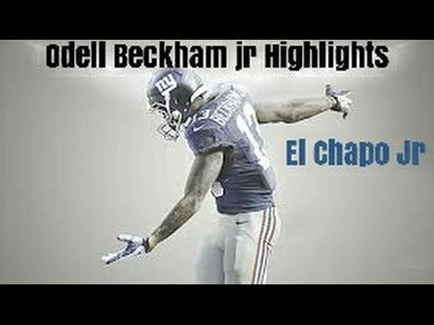 Odell Beckham jr || El Chapo Jr. || New York Highlights