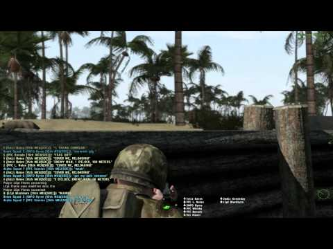ArmA 2 - Hell In the Pacific - 15th MEU - Tarawa Terror Part 2/4