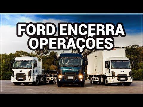 Ford Caminhões encerra operações no Brasil e América do Sul