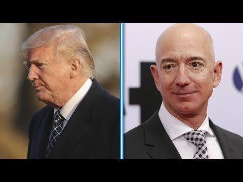 Amazon stock plunges after Trump's tweets