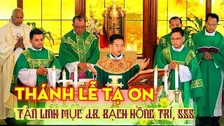 Thánh Lễ tạ ơn tân linh mục J.B. Bạch Hồng Trí, S.S.S.