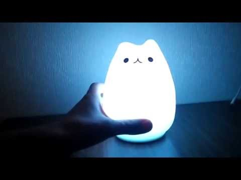 Cartoon Cat LED Night Light Review from GearBest.com