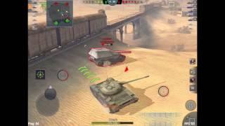 T-54 Desert Sands 7 Kills [WoT Blitz]
