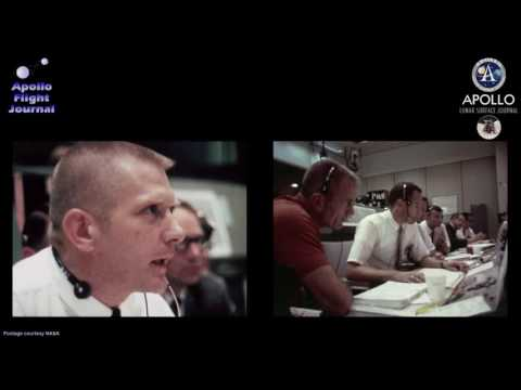 Apollo 11 landing - Go/No-Go, 1201 alarm - 102:42:05 GET