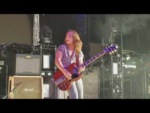 Greta Van Fleet - Edge of Darkness; Riff Fest; DTE Energy Theater; 9-29-2017
