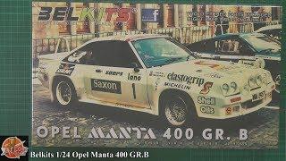 Belkits 1/24 Opel Manta 400 GR.B review