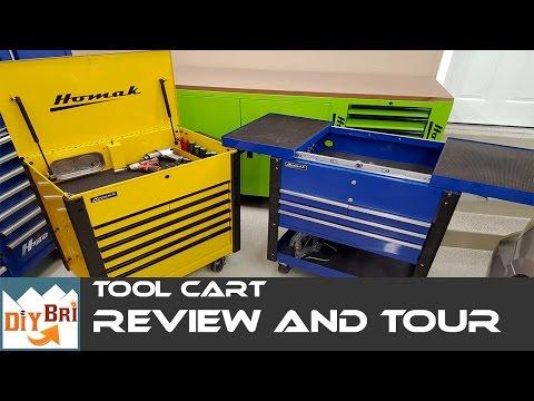 DIY Bri's | Mechanics Service Cart Review | Tool Cart Tour