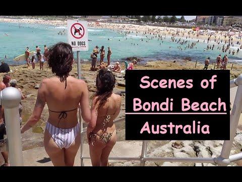Scenes of Bondi Beach | Sydney, Australia  (w/GoPro7 Camera)