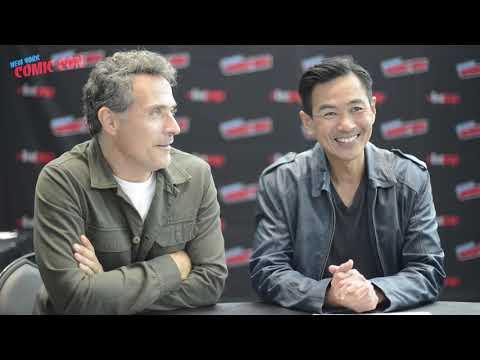 MAN IN THE HIGH CASTLE: Rufus Sewell & Joel de La Fuente on Season 3's Shockers  New York Comic Con