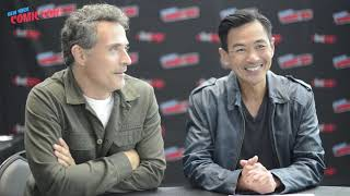 MAN IN THE HIGH CASTLE: Rufus Sewell & Joel de La Fuente on Season 3's Shockers - New York Comic Con