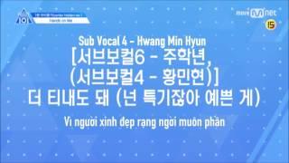 [Vietsub] Produce 101 Season 2 - Hands On Me (1 Minute Preview) (Center Hidden Ver.)