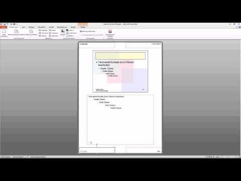Powerpoint 2010 Folienmaster ändern Tutorial Deutsch Youtube