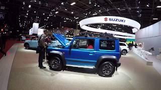 Новый Suzuki Jimny: взгляд изнутри