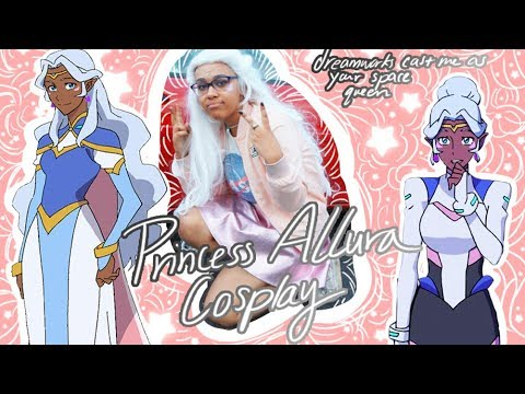 ✨a princess allura cosplay tutorial thing✨