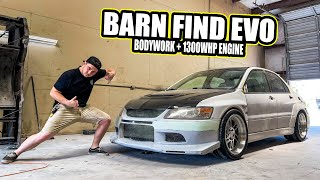 homepage tile video photo for Barn Find Evo VIII Update! Widebody Finished + 1200HP ENGINE