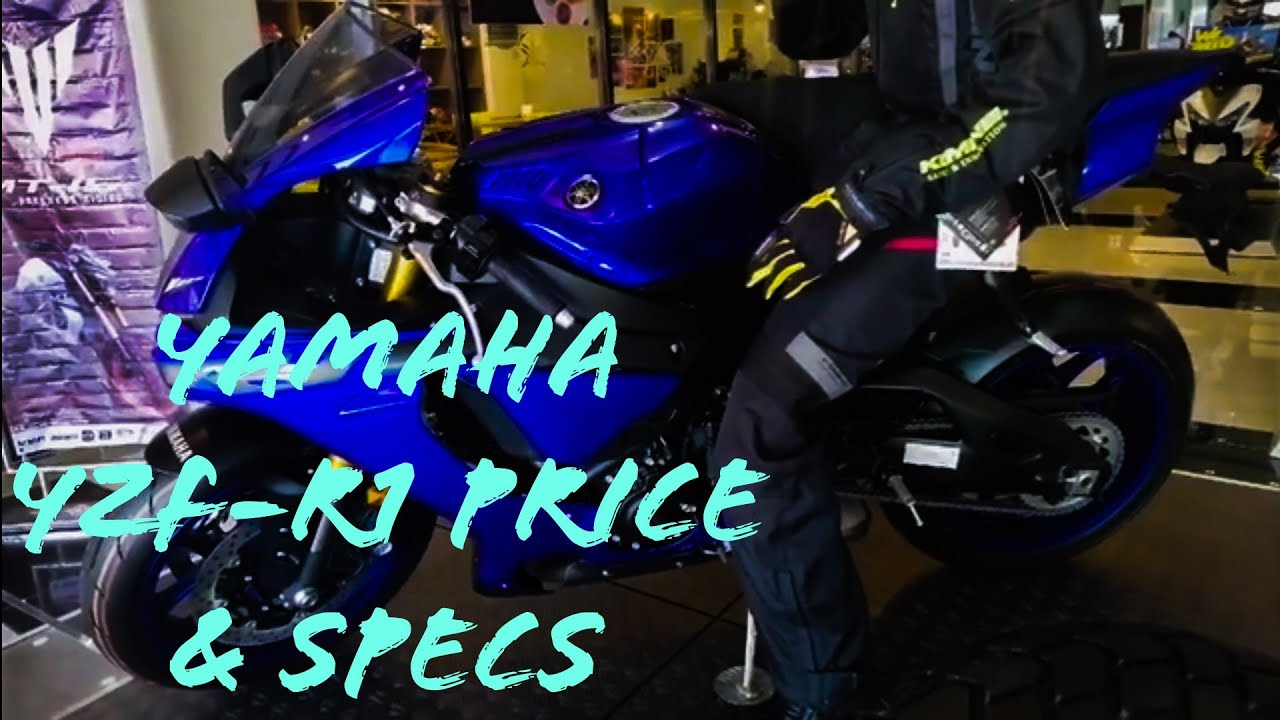 Yamaha Yzf R1 Price In The Philippines 2019