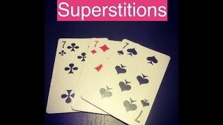 Superstitions - Learn English online free video lessons(This video is about superstitions. Don't forget to subscribe for more FREE ENGLISH VIDEO LESSONS ..., 2016-05-20T17:59:12.000Z)