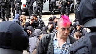 Polizei verhaut die Bösen