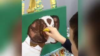 Станислав Мережин.Учимся рисовать собаку.