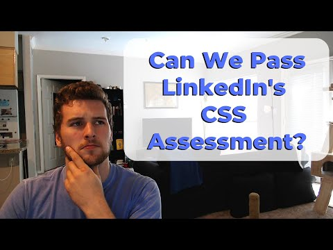 Can You Pass LinkedIn's CSS Assessment?!