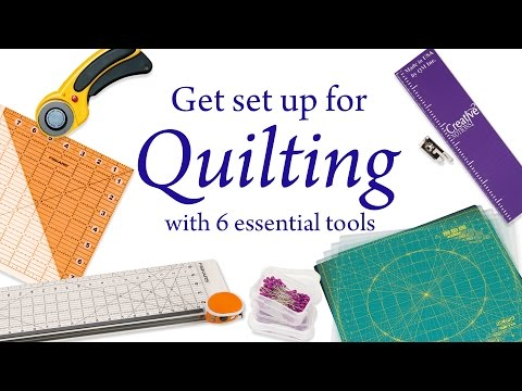 6 Essential Tools For Quilting