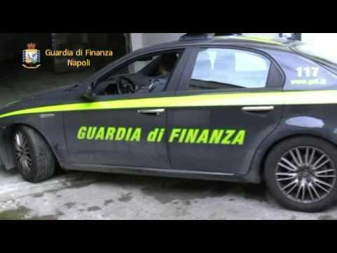 Sequestro Sigarette Napoli Guardia Finanza