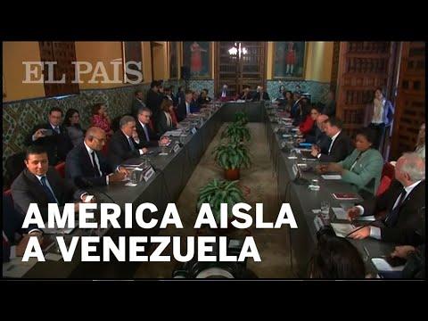América se moviliza para aislar a Maduro | Perú