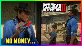 What Happens If Arthur Tries To Find Angelo Bronte With NO MONEY In Red Dead Redemption 2? (RDR2)