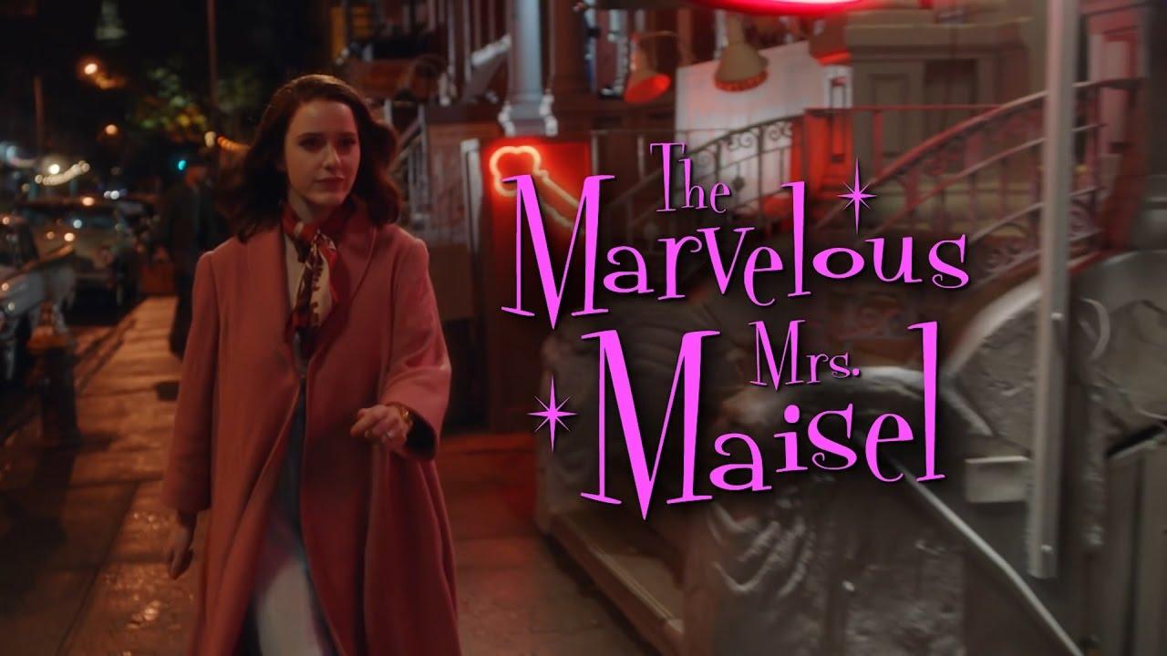 """Resultado de imagem para """"The marvelous mrs. Maisel"""""""