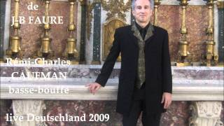 The palms. Les rameaux. J.B FAURE. Hymne. Rémi-Charles CAUFMAN bassbuffo