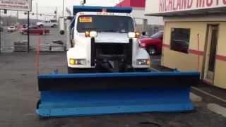 1993 International 4900 Dump truck w/ Plow